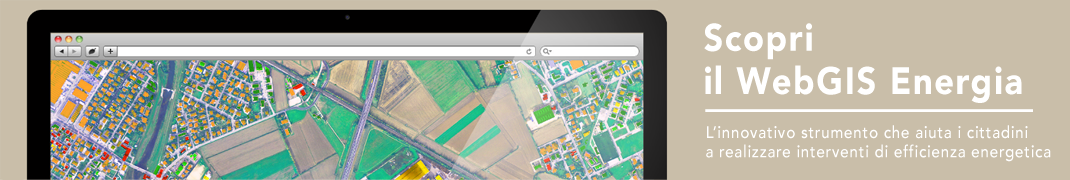 Scopri il WebGIS Energia